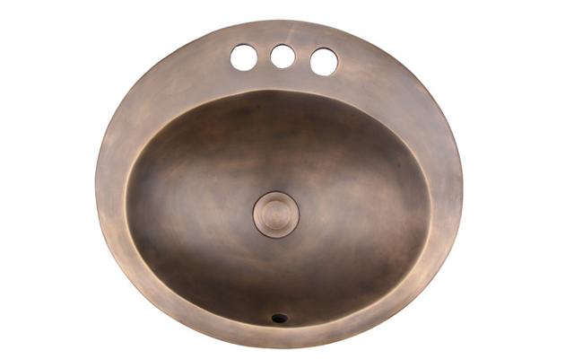 Chậu rửa bằng đồng Kanly GC-L08