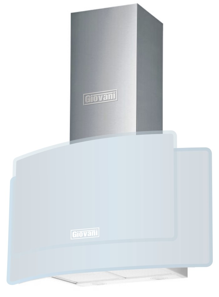 Máy hút kính cong Giovani G-915 WG