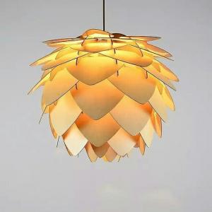 Đèn Gỗ Thả Trần Woodlamp 009