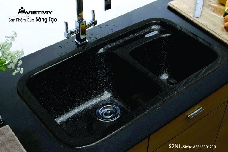 Chậu rửa đá nhân tạo mã S Việt Mỹ Model S2NL